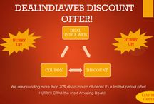Dealindiaweb / Dealindiaweb is a deals marketplace that brings to you the best deals in your city. Visit us for more details