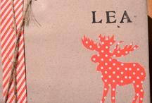 Christmas gift wrapping / Inspiration