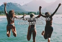 Summer 2016 Bucket List / Summer activities and adventures for the most memorable summer!