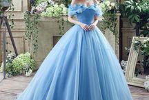 Vestidos de casamento de cinderela