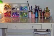 Craft room ideas  / by Michelle Miller