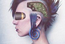 Cyberpunk Something / by Chelsea Lee