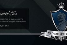 Plymouth Tea / Pictures of our tea and branding