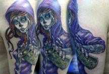 Tattoo work by Master Vasya Vayz / Tattoo work by Vasya Vayz