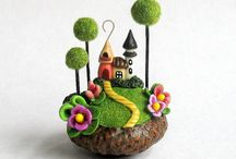 Polymer clay : miniature