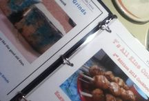 CookBooks For Sale / My 1st and 2nd Edition Cookbook are for Sale for $25.00 each and shipping is depending on your area. If interested please write to me at locallady7269@gmal.com, I create these books on my own, I'm my own publisher.  / by TsAllKine OnoGrinds