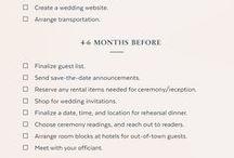 Huwelijk planning checklist