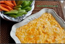 Appetizers and dips / by Michele Stoothoff Phillips