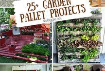 Garden pallet project / DIY