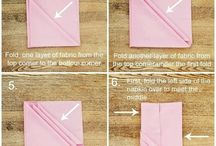 how to fold napkin