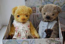 Teddy bears and friends