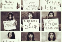 Racism / This board is here to provide education to those interested in the issues that racism creates. The hope is that you'll find resources to help change the minds of others so that together, we can bridge the gap towards being a culture that sees color, but sees and treats all equally. / by Educators Pursuing Social Justice