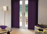 Vertical Blinds / Stylish, practical and affordable, great for throwing the light at a fantastic price.