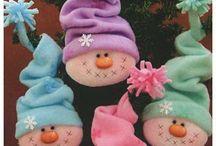 Snowman crafts