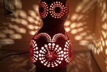 ひょうたんランプ Gourd lamp / Gourd lamp