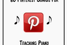 Teaching: piano / Resources for teaching music