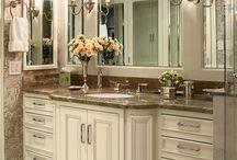 Bathrooms and Fixtures / by Ann Kenkel Interiors