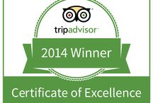 2014 TripAdvisor Winner / We have been awarded a 2014 TripAdvisor Certificate of Excellence!