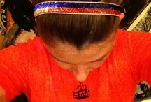 College Sports Sparkle with Sparkly Soul nonslip headbands www.sparklysoul.com
