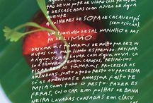Receitas Mana Bernardes / Teste as receitas orgânicas da artista Mana Bernardes.