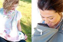 MonaLisa Mamas Nursing Covers / Gorgeous, stylish breastfeeding covers to make nursing discreet and comfortable.