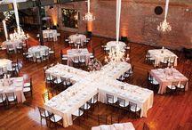 Wedding reception layouts