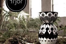 frjor . fine products . six bowls . six different patterns / porcelain . height 8cm . diameter 14cm  capactiy 725ml . weight 449g  www.frjor.com