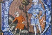 Breviarium ad usum fratrum Predicatorum - Bréviaire de Belleville: 1323-1326 (BNF Latin 10483/10484)