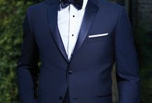 Midnight Blue Tuxedos / All you need to know about how to wear them and what details you need to think about!  www.skeffingtons.com