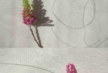 из бисера цветок