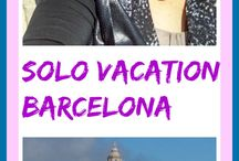 Barcelona - Solo Vacation