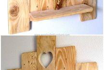полки деревянные