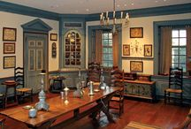 colonial rooms / by Aaron C