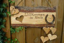 dekorace dřevo