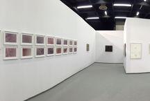 Art Cologne 2016 / Montrasio Arte at Art Cologne • April 14th - 17th, 2016. Artworks by: Joseph Beuys, Lucio Fontana, Angelo Savelli, Salvatore Scarpitta, Luigi Ghirri. Installation view.