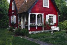 Taloja ja mökkejä ja sen sellaista