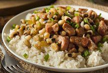 Μαυρομάτικα σαλάτα με ρύζι (Hoppin' John) / Εύκολη και χορταστική σαλάτα με μαυρομάτικα!