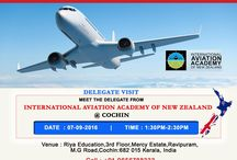 International Aviation Academy of NZ Delegate Visit / International Aviation Academy of NZ Delegate Visit at Riya Education, Overseas Education Consultants