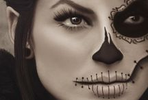 Halloween jelmez és arc  frstészet