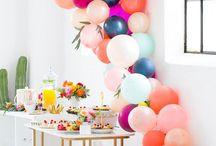 Colorful Party Decor