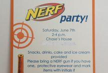 Taiga's nerf gun party