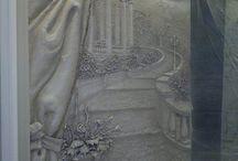 Рельеф-фреска