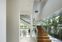 Ideal house; staircases