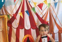 Alice's 1st birthday Circus Birthday