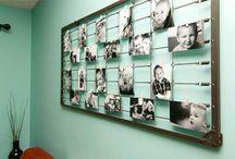 Home photo display