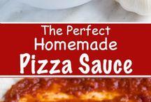 Beautiful pizza sauce