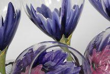 Paint on glass / by Teresa Sittner-Kinnison