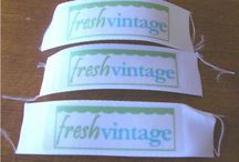 DIY personal custom sewing project tags / by Maggie Norkunas