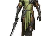 Elfo, Meio Elfo RPG