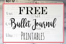 [Bullet Journal] Printables